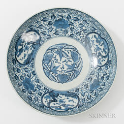 Imari Blue and White Charger