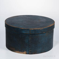 Large Blue-painted Pantry Box