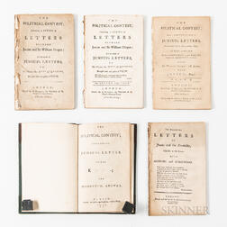 Large Collection of Junius Works and Related Manuscripts.