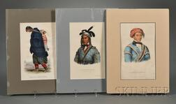 Six Lithograph Portraits of American Indians