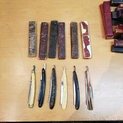 Collection of Approximately Forty-seven Straight Razors