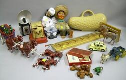 Group of Miscellaneous Toys and Collectibles
