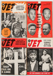 Four Issues of JET   Magazine