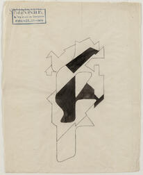 Ernesto Michahelles, called Thayaht (Italian, 1893-1959)      Untitled Abstraction.