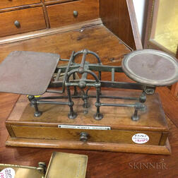 Fairbanks Postal Scale and Nine Other Scales