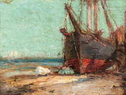 Harry Aiken Vincent (American, 1864-1931)      Out of Commission