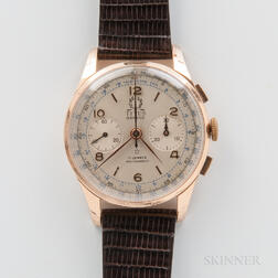 Titus 18kt Gold Manual-wind Chronograph Wristwatch