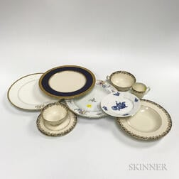 Group of Partial Porcelain Dinner Services
