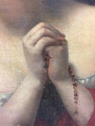 Manner of Carlo Dolci (Italian, 1616-1686)      Penitent Woman Holding a Rosary