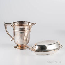 Three Pieces of Gorham Sterling Silver Tableware