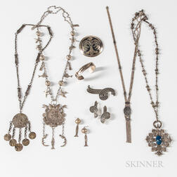 Group of International Silver Jewelry
