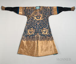 Nine-dragon Blue-ground Robe