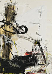 American School, 20th Century      Gestural Abstract