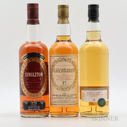 Mixed Single Malts, 3 750ml bottles