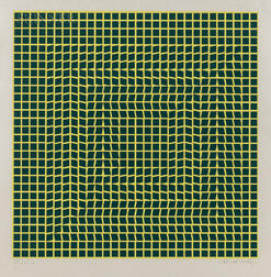 Victor Vasarely (Hungarian/French, 1906-1997)      Tau-Ceti
