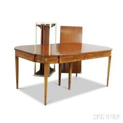 Federal-style Inlaid Mahogany Dining Table