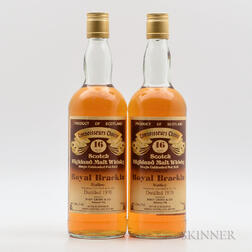 Royal Brackla 16 Years Old 1970, 2 750ml bottles