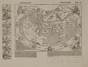 (Maps and Charts, World Projection, 15th Century)