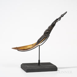 Northwest Coast Horn Spoon