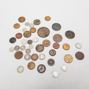 Small Group of American Coins and Tokens