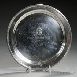 Mauser Sterling Silver Larchmont Yacht Club Trophy Tray