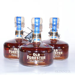Old Forester Birthday Bourbon 12 Years Old 2005, 3 750ml bottles