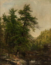Asher Brown Durand (American, 1796-1886)      Forest Brook