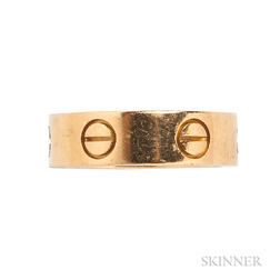 "18kt Gold ""Love"" Ring, Cartier"