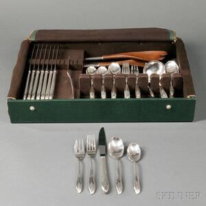 Century/International Silver Flatware Service for Eight