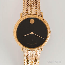 Universal Geneve 14kt and 18kt Gold and Diamond Quartz Wristwatch