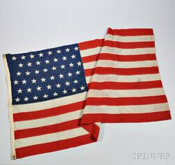 Forty-six-star United States Flag