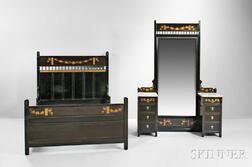Herter Brothers Anglo-Japanese Bed and Vanity