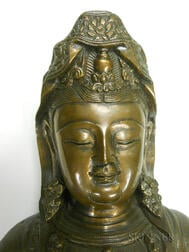 Bronze Figure of Guanyin