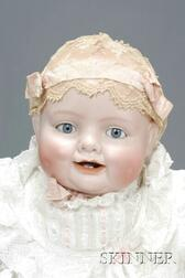 """Georgene Averill """"Bonnie Babe"""" Bisque Character Doll"""