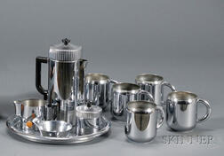 Ten Chase Chrome Plated Serving Items