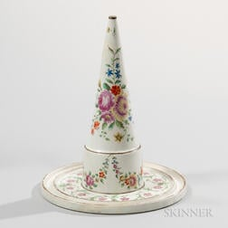 Wedgwood Pearlware Conical Mold Stand