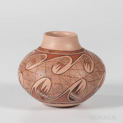 Contemporary Hopi Seed Jar