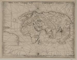(Maps and Charts, World Projection, 16th Century)