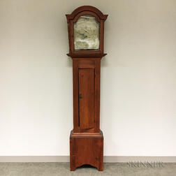 Federal Silas Hoadley Pine Case Clock