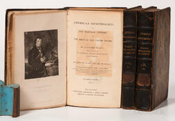 Wilson, Alexander (1766-1813) and Charles Lucien Bonaparte (1803-1857) with Notes by Sir William Jardine (1800-1874) American Ornitholo