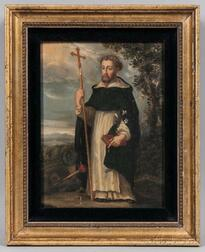 Continental School, 18th Century Style  Style      St. Dominic, Founder of the Dominican Order