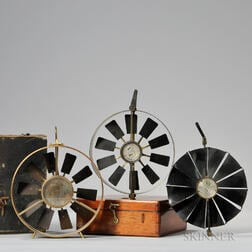 Three Davis & Son Anemometers