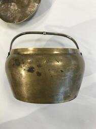 Yellow Brass Hand Warmer and Cover