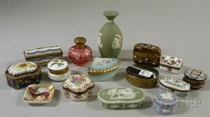 Fifteen Small Decorative Table Items