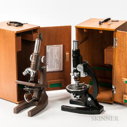 Two Monocular Microscopes