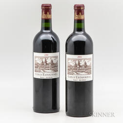 Chateau Cos dEstournel 2006, 2 bottles