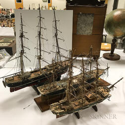Three Ship Models
