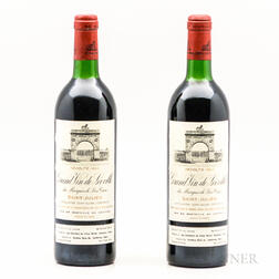 Chateau Leoville Las Cases 1983, 2 bottles