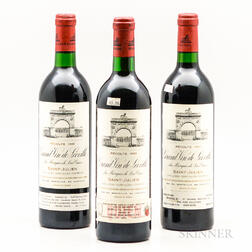 Chateau Leoville Las Cases 1986, 3 bottles