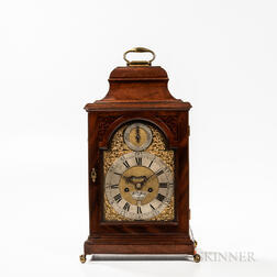 William Smith Mahogany Bracket Clock